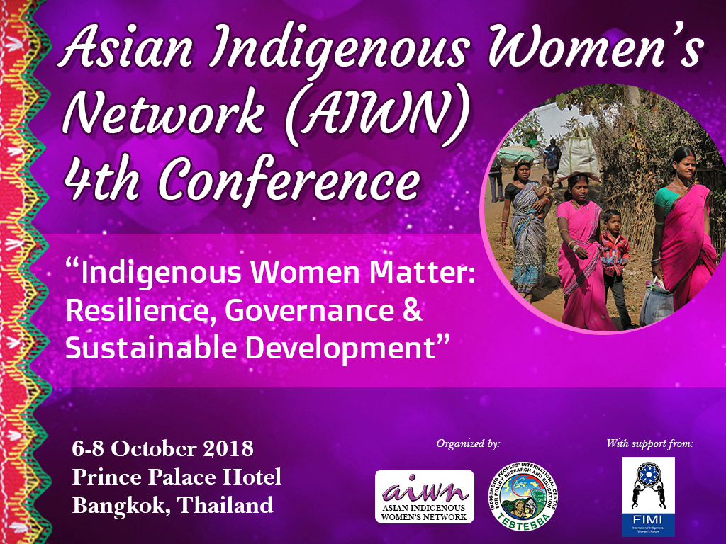 Fourth Conference of the Asian Indigenous Women's Network